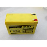 Quality 6FM9H F250 12Volt 9AH High Rate Discharge Battery Maintenance Free Lead Acid Battery wholesale