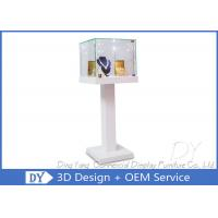 Quality Custom Shop Glass Display Cabinets / Lockable Glass Display Case wholesale
