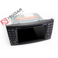 Cheap Auto Radio Double Din Gps Car Stereo , Mercedes E Class Dvd Player Built In SD for sale