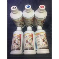 Quality CMYK Water Based Dye Sublimation Printing Ink Four Colors For Epson Piezo Heads wholesale