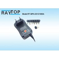 Quality 3-12V Multiple Output Switching Power Adapter, 1000mA, External 5V 1A USB Port wholesale