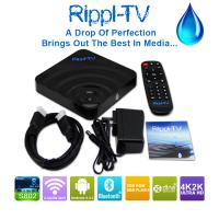 Quality Rippl-TV Amlogic S802 Quad Core Android TV Box Android4.4 XBMC 4K 2.0GHz 2GB 8GB Bluetooth 5G wifi H265 HDD Player wholesale