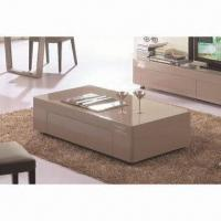 Quality Functional coffee table with MDF, high-glossy painting and high-quality hardware wholesale