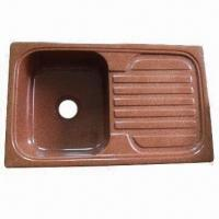 Quality Quartz Kitchen Sink with Artificial Marble Material wholesale