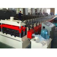 Quality 22KW Steel Deck Roll Forming Machine , Corrugated Metal Deck Forming Machine wholesale