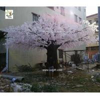 Quality UVG luxury wedding decoration design in huge artificial cherry blossom trees for photography backdrops CHR174 wholesale