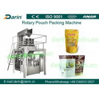 Quality Snack Food Grain Automatic Pouch Packing Machine for flat , stand bag wholesale