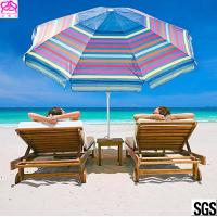 Quality 210D Oxford Fabric Waterproof Parasol Umbrella With Aluminum Handle 1.8-3m wholesale