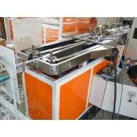 Quality pe pp pvc pa single wall corrugated hose extrusion line production machine for sale for China supplier wholesale