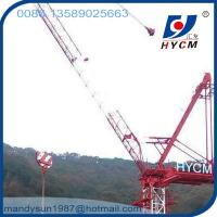 Quality 25m Jib 2.0ton Tip Load QTD2520 Small Luffing Jib Tower Crane with High Specifications wholesale