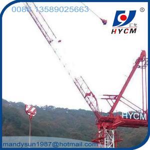 Quality QTD300(6037) Luffing Jib Tower Crane 16t 60m Jib Construction Crane for Buliding wholesale