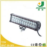 Quality Double row CREE chip 5700lm 72w led light bar for truck wholesale