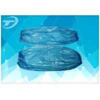 China Arm Medical Disposable Sleeve Covers Blue Clear Protective Sleeves on sale