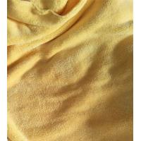 Quality Microfiber 150cm width 550gsm Yellow Coral Fleece High Quality 150D/144F Cleaning Cloth wholesale