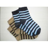 Quality Striped Cotton Sports Womens Thermal Socks With Terry Loop For Spring wholesale