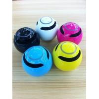 Quality 2014 Hot selling best bluetooth handsfree speaker round ball shape wholesale