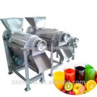 Quality easy operate industrial vegetable juice extractor / fruit juicer press machinery wholesale