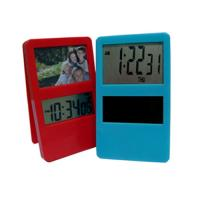 China Clip clock with photo frames/hot selling promotional clock/table clock on sale