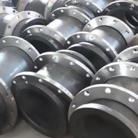 China Rare Earth Alloy Wear-resisting Casting Flanged Pipe on sale