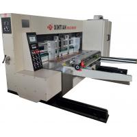 Cheap Electric Control Three Color Printing Slotting / Die Cut Machine Corrugated Box for sale