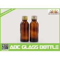 Quality Cheap Discount 100ML Pharmaceutical Amber Syrup Glass Bottle wholesale