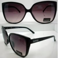 Quality Modern Cool Brown Lens Plastic Frame Sunglasses CE For Women wholesale
