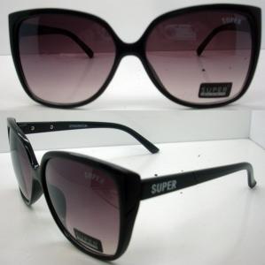 Cheap Modern Cool Brown Lens Plastic Frame Sunglasses CE For Women for sale