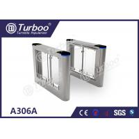 Quality Running Stable Electronic Turnstile Gates , Pedestrian Swing Barrier Gate wholesale