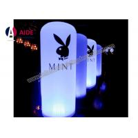 Cheap Led Column Inflatable Event Decoration Advertising , Inflatable Tube With Remote for sale
