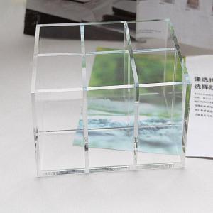 Quality Clear Acrylic Cosmetic Display desktop Cosmetic lipstick Organizer wholesale