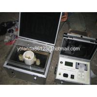 China Transformer oil BDV tester | Insulating oil tester | Oil Testing Instrument IIJ-II-100KV on sale