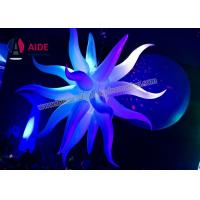 Quality Inflatable Large Sea Urchin Inflatable LED Star Decoration In Night Club wholesale