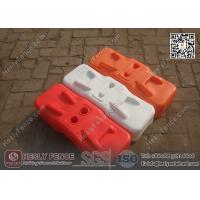 Quality Orange Color BLOW Mould Plastic Temporary Fencing Feet | China Temporary Fence Feet Factory wholesale