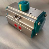 Quality AT Series 5021  green color rack and pinion pneumatic actuator control valve wholesale
