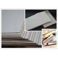 Cheap Thickness 1.28mm Grey board for printing industry / education / exercise books for sale