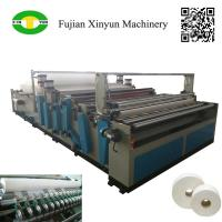 Quality Semi automatic maxi roll paper and small bobbin paper slitting and rewinding machine wholesale