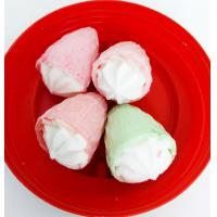Cheap Lovely Marshmallow Candy Sweet and Soft Strawberry Ice Cream Shape for sale