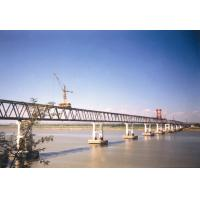 Quality Performance Steel Truss Temporary Pedestrian Bridge with Paint Surface wholesale