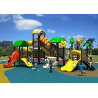 China kids plastic outdoor play structure, kindergarten outdoor play ground on sale