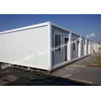Quality Classroom / Office Units Structural Steel Construction Modular Container House Expansion Project wholesale