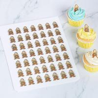 Quality Personalized Chocolate Transfer Molds Silicone Chablon Easy To Peel Away wholesale