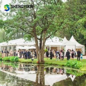 Quality UV Resistant Mobile Aluminum Party cheap pvc fabric transparent show outdoor wedding event tents wholesale