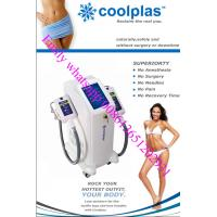 Quality coolscupting zeltiq cryolipolysis fat freezing and shockwave slimming Coolplas vacuum cryotherapy fat freezing wholesale