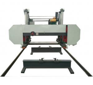 Quality Low Price Guaranteed Quality Large Horizontal Band Sawmill Lumber Cutting Band Saw Mill wholesale