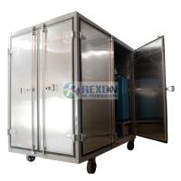 Quality Dust Proof Enclosed Hot Air Generator , Compressed Air Drying Equipment DAG-300 wholesale