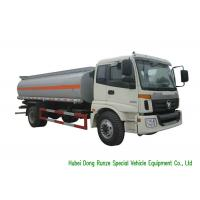 Quality FOTON AUMAN Fuel Delivery Truck With Stainless Steel Tank PTO Fuel Pump 12CBM wholesale