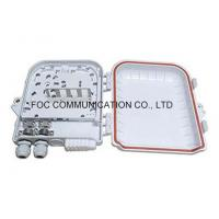 Quality Professioanl 12 Core Fiber Optic Termination Box With 1x8 PLC Splitter wholesale