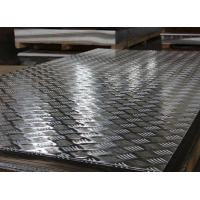 Cheap Anti Skidding Aluminium Checker Plate Sheet With Bright Finish Surface Treatment for sale