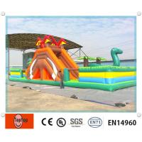 Quality PVC Customized Inflatable Hippo Slide / Pool Slide for kids entertainment water games wholesale
