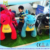 Quality Hansel park electric ride on animals and carnival rides for kiddie for sale wholesale